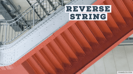 Reverse String - Leet Code Solution