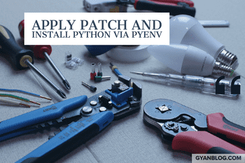 Python - How to apply patch to Python and Install Python via Pyenv