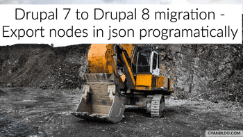 Drupal 7 - Code for Exporting all your content nodes in json files