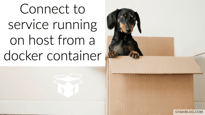 How to connect to a running mysql service on host from a docker container on same host