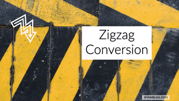 Zigzag Pattern String Conversion - Leet Code Solution