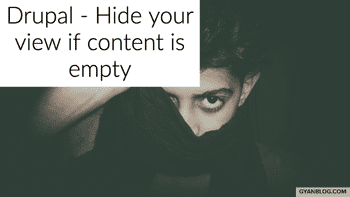 Drupal 8 - How to hide a view block if content is empty