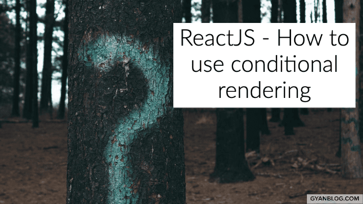 ReactJS - How to use conditionals in render JSX