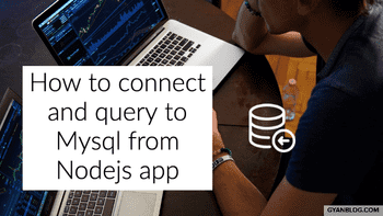How to connect to mysql from nodejs, with ES6 promise
