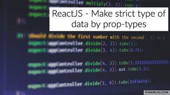 ReactJS - How to restrict data type for different kind of data
