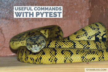 Python - Some useful Pytest Commands